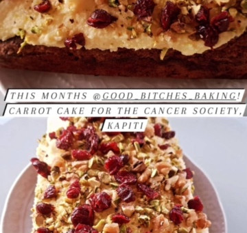 AWESOME HOME-BAKING SUPPORTS THE CANCER SOCIETY'S KAPITI SUPPORT CENTRE