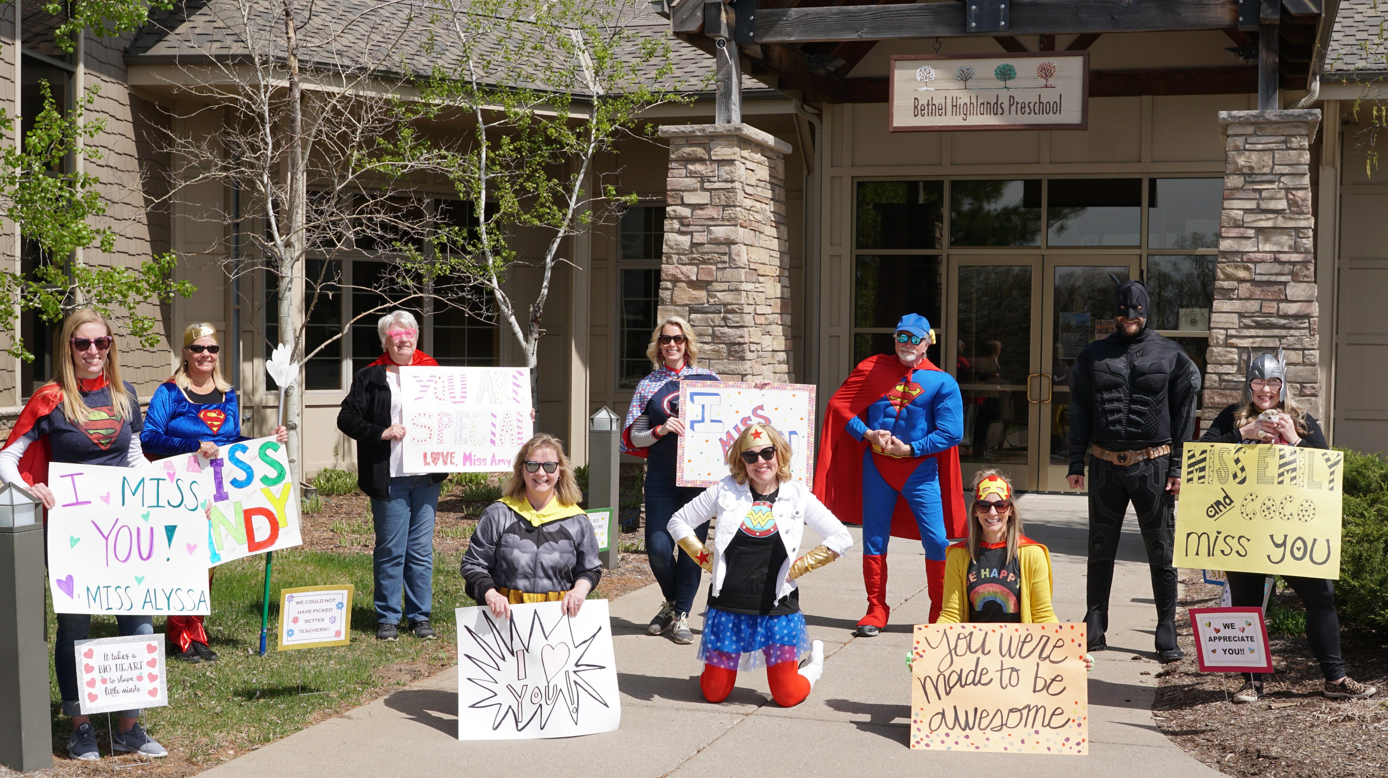 Super Hero Car Parade May 4, 2020