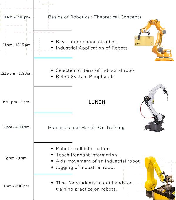 Robotics Beginner Training Schedule  (1)