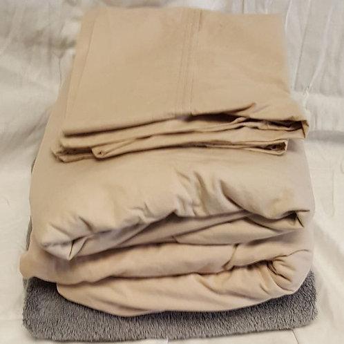 Twin Sheet Set + bath towel