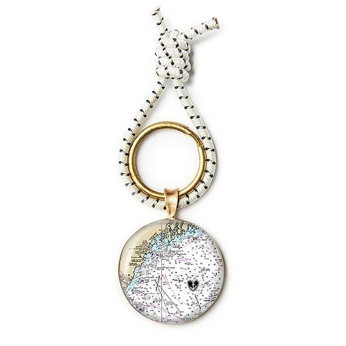 F/V Hayley Ann Bronze Key Ring