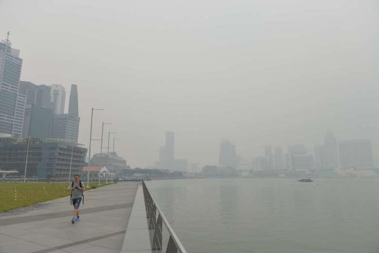 haze, singapore