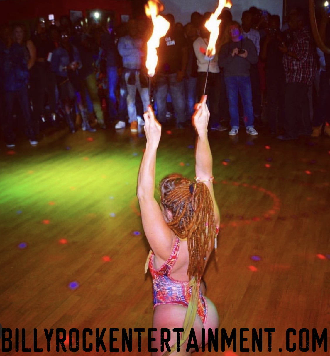Striptease Fire Shows are Topnotch Entertainment, and Venus Puts on the Best Fire Shows in all of Co