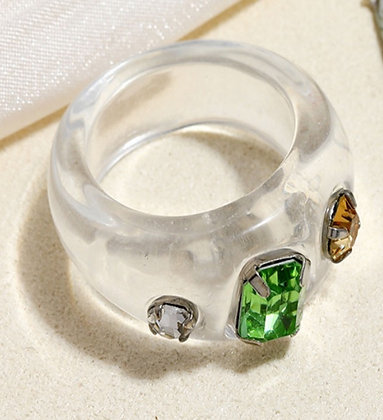 Summer Ring- Clear