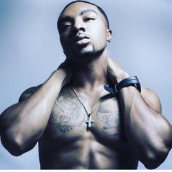 Handsome African-American Stripper in California