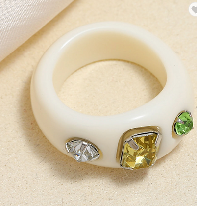 Summer Ring - White