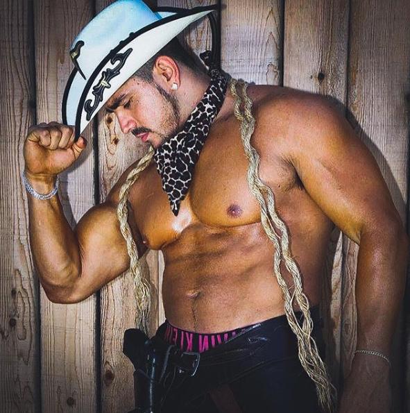 Shredded Cowboy Exotic Dancer in LA Orange County