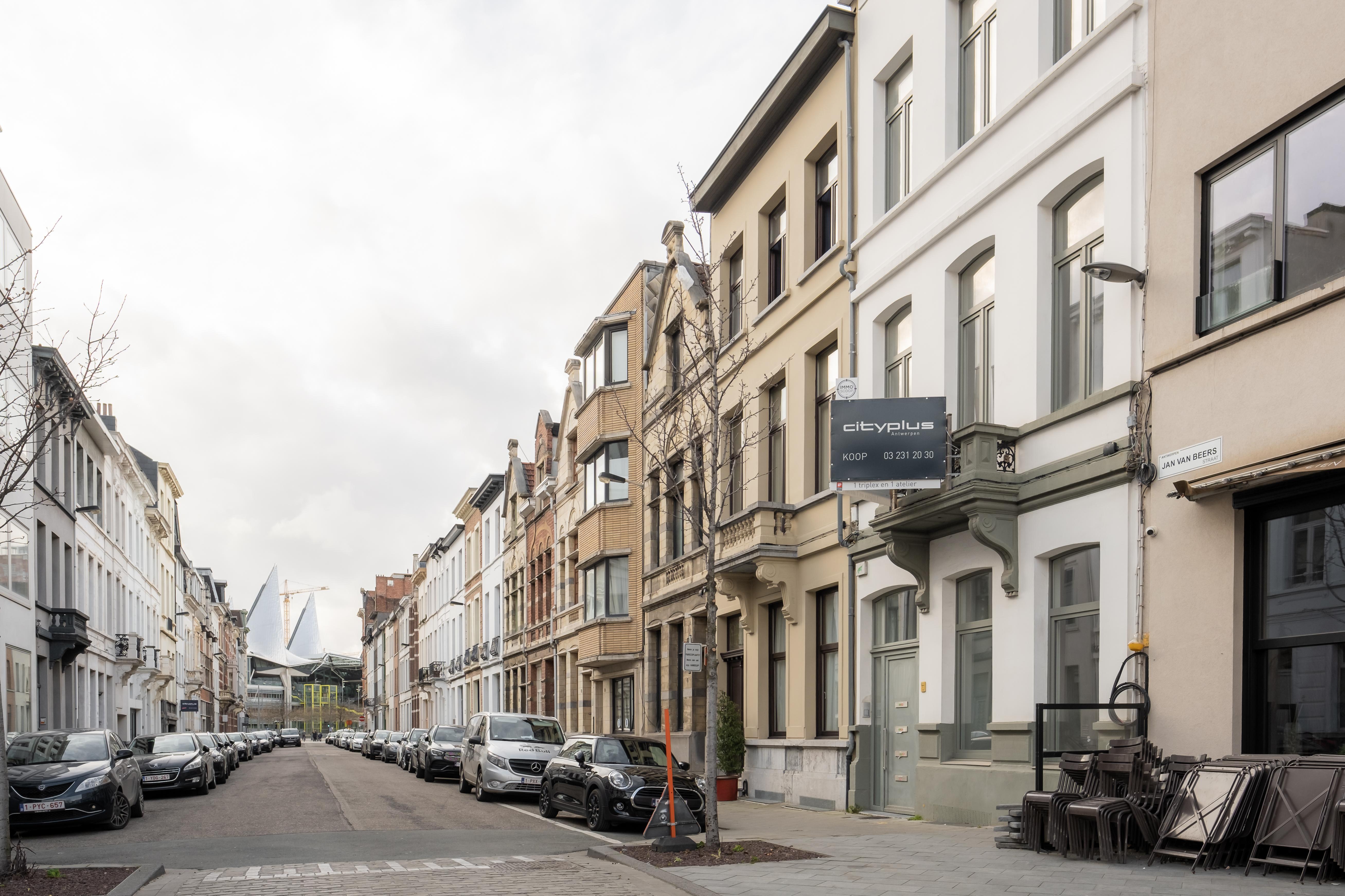 Jan Van Beersstraat 4 voorgevel