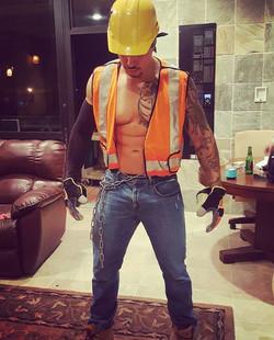 Kreme Construction Worker Stripper