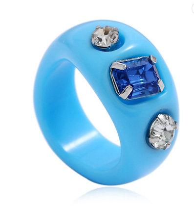 Summer Ring-Blue