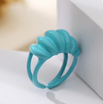 Enamel Ring - Turquoise