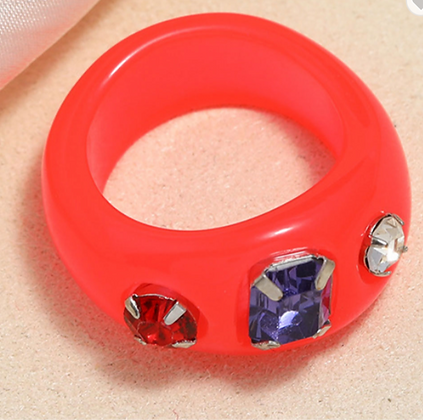 Summer Ring - Coral