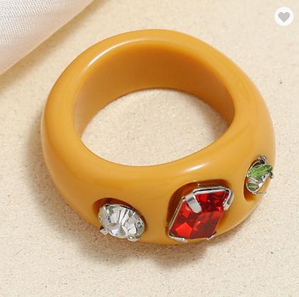 Summer Ring - Yellow