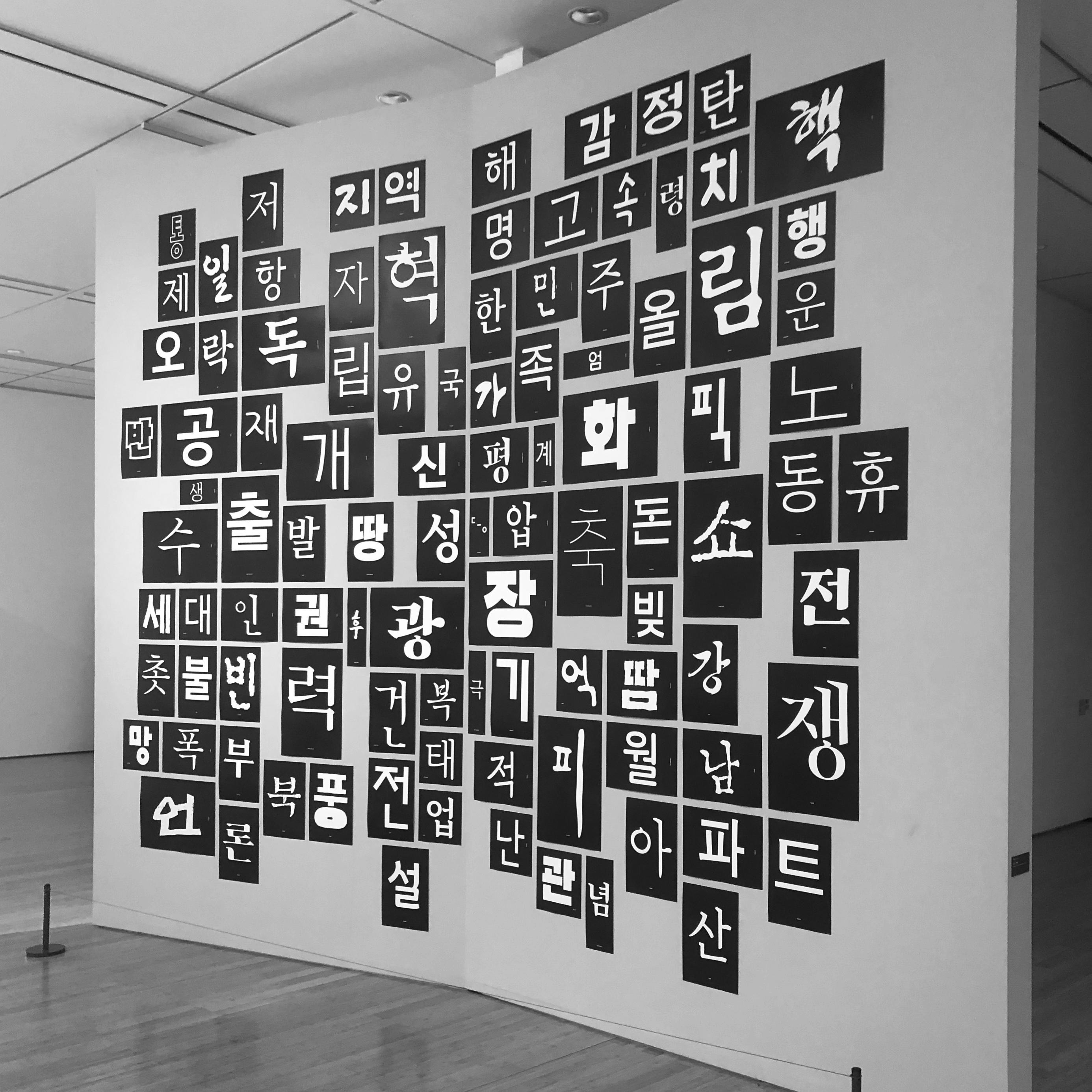 백백 프로젝트, 대구미술관, 2019