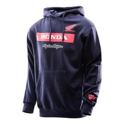 Honda Troy Lee Designs Wing Black pro hoodie