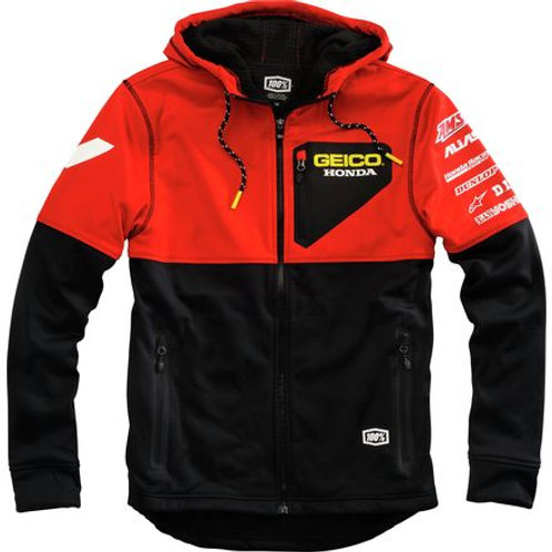 Geico Honda Technique hooded softshell