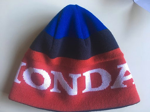 Honda beanie red-blue