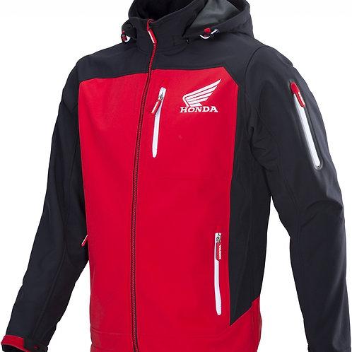 Honda Softshell Racing black-red