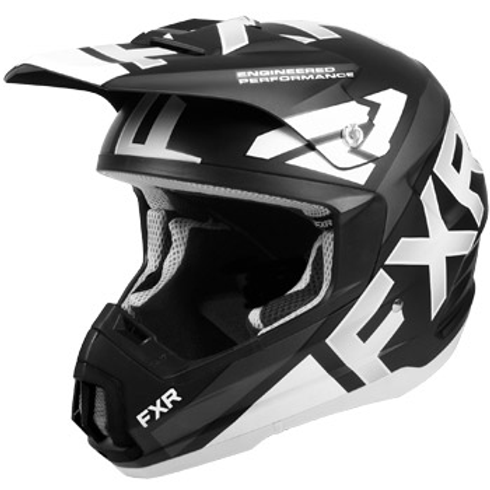 FXR Torque Team helmet black/white
