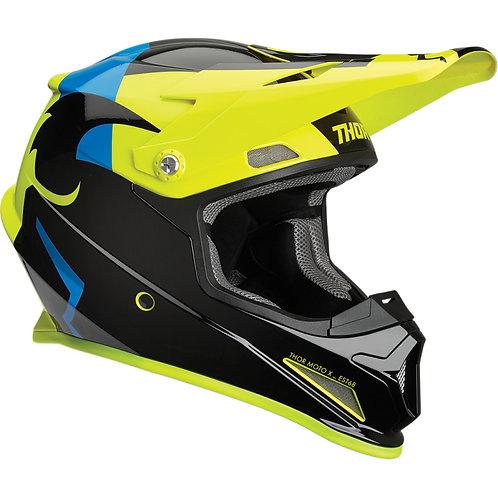 Thor Helmet Sector Shear black/acid