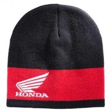 Honda paddock beanie black- red