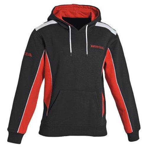 Honda Paddock hoodie black-red