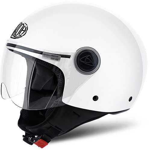 Airoh Compact Pro white gloss