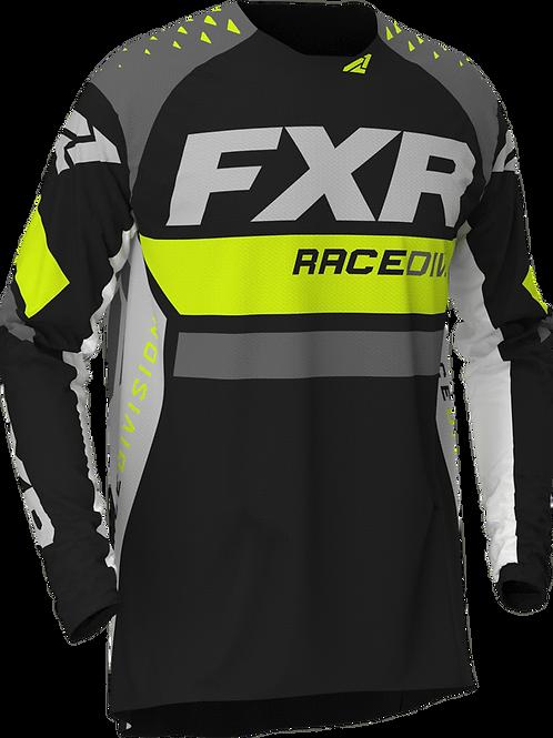 FXR Revo MX jersey Hi-vis/black/char/white