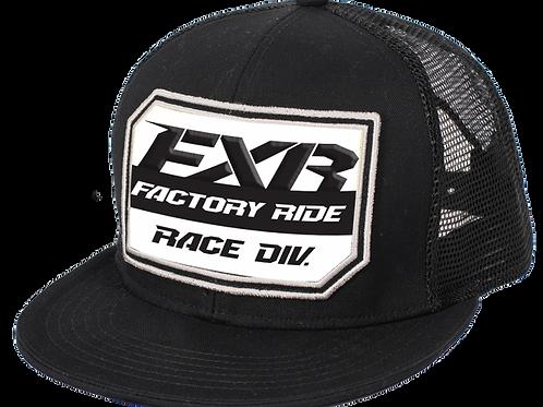 FXR Race Division hat Black/white