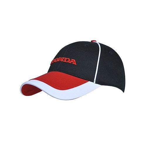 Honda paddock hat red-white-black