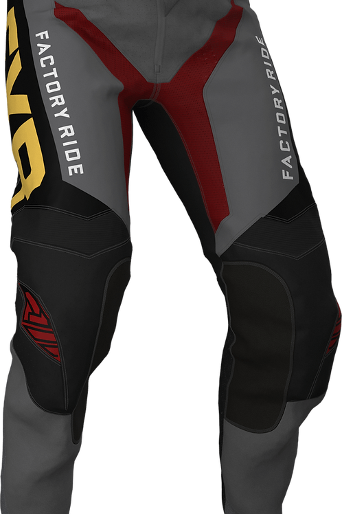 FXR Helium MX pants char/red/gold