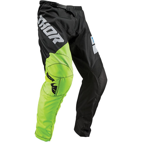 Thor MX Pants Sector Shear black/acid 2019