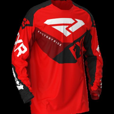 FXR Podium mx jersey red/black/maroon