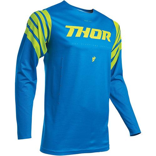 Thor Prime Strut Jersey Electric blue/acid