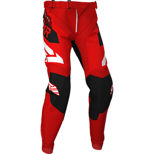 FXR Podium MX pants red/black/maroon