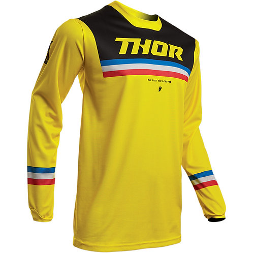 Thor Pulse Pinner Jersey Yellow/Black