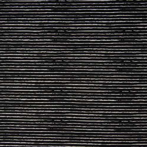 0.5m Jersey Stripes schwarz