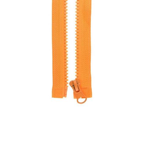 Reißverschluss orange (teilbar)