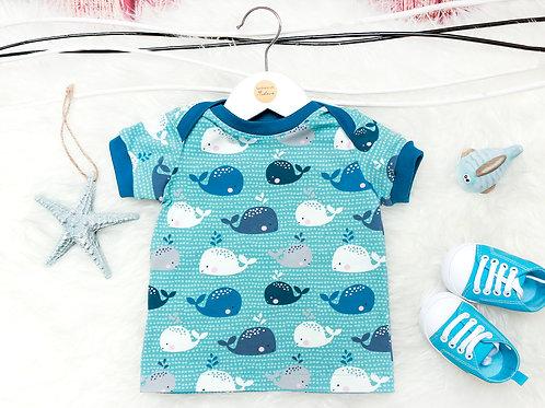 T-Shirt Babywale blau #68