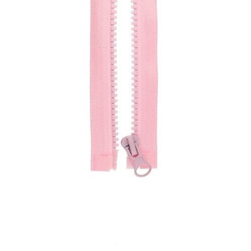Reißverschluss rosa (teilbar)