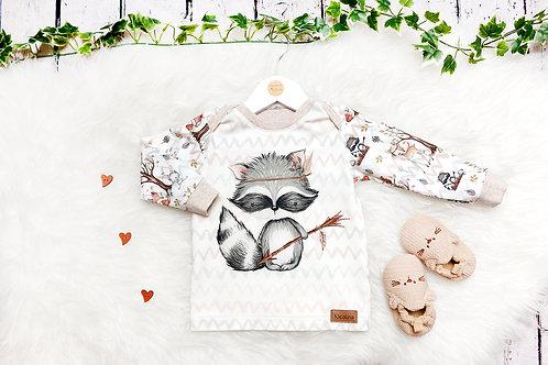 Shirt Waldfreunde Waschbär