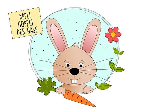 "Applikationsvorlage ""Hoppel der Hase"" - FREEBOOK"