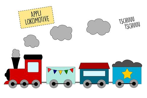 Applikationsvorlage Zug | Lokomotive