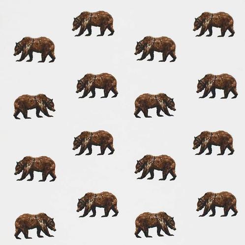0.5m Baumwolljersey Bären