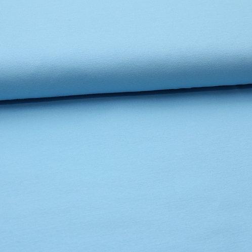 0.5m Bio-French Terry himmelblau