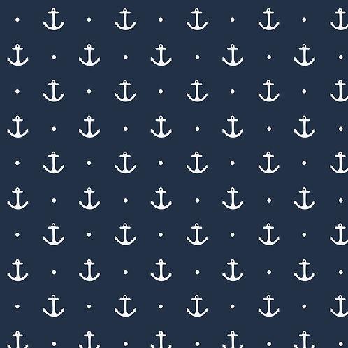 0.5m Jersey Anker blau