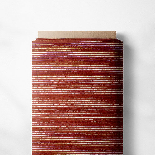 0.5m Jersey Stripes rost