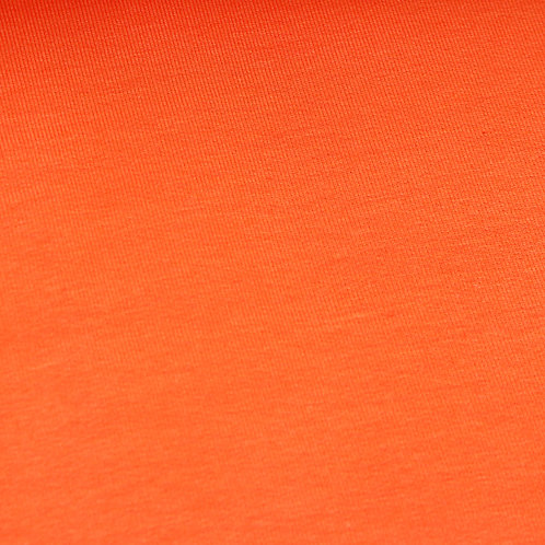 0.5m Bio Bündchen orange GOTS