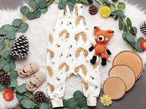 Latzhose Foxy ecru #68/74
