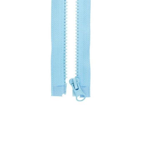 Reißverschluss altblau (teilbar)